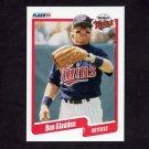 1990 Fleer Baseball #375 Dan Gladden - Minnesota Twins