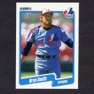 1990 Fleer Baseball #361 Bryn Smith - Montreal Expos