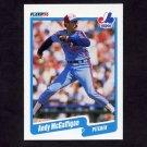 1990 Fleer Baseball #355 Andy McGaffigan - Montreal Expos