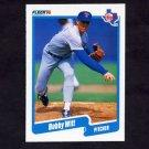 1990 Fleer Baseball #315 Bobby Witt - Texas Rangers