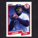 1990 Fleer Baseball #287 Lee Smith - Boston Red Sox