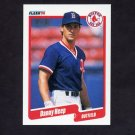 1990 Fleer Baseball #278 Danny Heep - Boston Red Sox