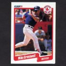 1990 Fleer Baseball #277 Mike Greenwell - Boston Red Sox