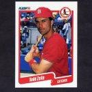 1990 Fleer Baseball #265 Todd Zeile - St. Louis Cardinals