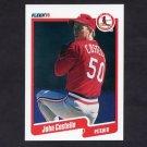 1990 Fleer Baseball #246 John Costello - St. Louis Cardinals