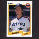 1990 Fleer Baseball #238 Dave Smith - Houston Astros