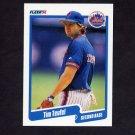 1990 Fleer Baseball #218 Tim Teufel - New York Mets
