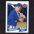 1990 Fleer Baseball #216 Mackey Sasser - New York Mets
