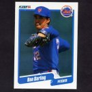 1990 Fleer Baseball #201 Ron Darling - New York Mets