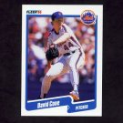 1990 Fleer Baseball #200 David Cone - New York Mets
