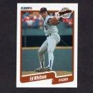 1990 Fleer Baseball #171 Ed Whitson - San Diego Padres