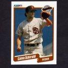 1990 Fleer Baseball #168 Calvin Schiraldi - San Diego Padres