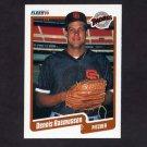 1990 Fleer Baseball #165 Dennis Rasmussen - San Diego Padres