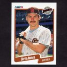 1990 Fleer Baseball #161 Chris James - San Diego Padres