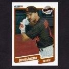 1990 Fleer Baseball #160 Darrin Jackson - San Diego Padres