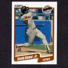1990 Fleer Baseball #150 Sandy Alomar Jr. - San Diego Padres