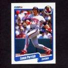 1990 Fleer Baseball #141 Lance Parrish - California Angels