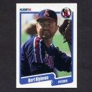 1990 Fleer Baseball #128 Bert Blyleven - California Angels