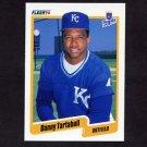 1990 Fleer Baseball #120 Danny Tartabull - Kansas City Royals