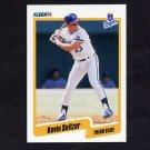 1990 Fleer Baseball #117 Kevin Seitzer - Kansas City Royals