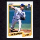 1990 Fleer Baseball #116 Bret Saberhagen - Kansas City Royals