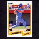 1990 Fleer Baseball #106 Jim Eisenreich - Kansas City Royals
