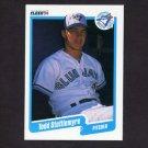 1990 Fleer Baseball #094 Todd Stottlemyre - Toronto Blue Jays NM-M