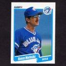 1990 Fleer Baseball #091 Rance Mulliniks - Toronto Blue Jays