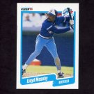 1990 Fleer Baseball #090 Lloyd Moseby - Toronto Blue Jays