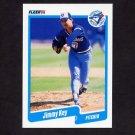 1990 Fleer Baseball #085 Jimmy Key - Toronto Blue Jays