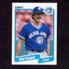 1990 Fleer Baseball #081 Mike Flanagan - Toronto Blue Jays