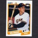 1990 Fleer Baseball #051 Mike Benjamin RC - San Francisco Giants