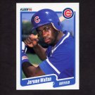 1990 Fleer Baseball #044 Jerome Walton - Chicago Cubs NM-M