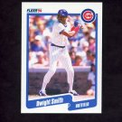 1990 Fleer Baseball #042 Dwight Smith - Chicago Cubs