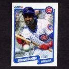 1990 Fleer Baseball #030 Shawon Dunston - Chicago Cubs