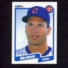 1990 Fleer Baseball #027 Mike Bielecki - Chicago Cubs NM-M