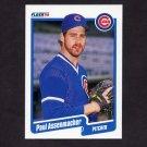 1990 Fleer Baseball #025 Paul Assenmacher - Chicago Cubs NM-M