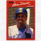 1990 Donruss Baseball Bonus MVP's #BC09 Alvin Davis - Seattle Mariners