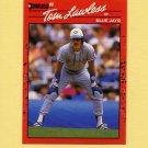 1990 Donruss Baseball #681 Tom Lawless - Toronto Blue Jays