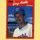 1990 Donruss Baseball #679 Gary Mielke RC - Texas Rangers