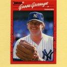 1990 Donruss Baseball #678 Goose Gossage - New York Yankees