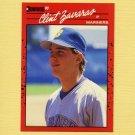 1990 Donruss Baseball #662 Clint Zavaras RC - Seattle Mariners
