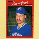 1990 Donruss Baseball #655 Mauro Gozzo RC - Toronto Blue Jays
