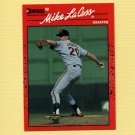 1990 Donruss Baseball #652 Mike LaCoss - San Francisco Giants