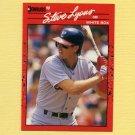 1990 Donruss Baseball #651 Steve Lyons - Chicago White Sox
