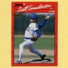 1990 Donruss Baseball #647 Scott Sanderson - Chicago Cubs