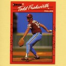 1990 Donruss Baseball #631 Todd Frohwirth - Philadelphia Phillies