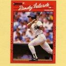 1990 Donruss Baseball #630 Randy Velarde - New York Yankees