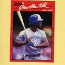 1990 Donruss Baseball #627 Glenallen Hill - Toronto Blue Jays