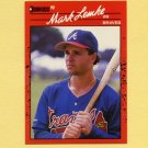 1990 Donruss Baseball #624 Mark Lemke - Atlanta Braves
